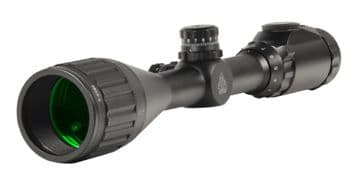 "Leapers UTG 3-9x50 1"" Hunter Scope, 5yds AO, 36-color Mil-dot, Picatinny Rings SCP-U395AOIEW"