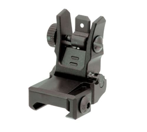 Leapers UTG Low Flip-up Picatinny Rear Sight with Dual Aiming Aperture MNT-955