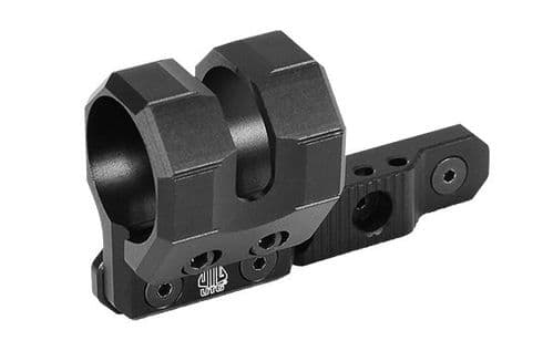 Leapers UTG M-LOK Offset Flashlight Tactical Torch Ring Mount Black RG-FL27MC