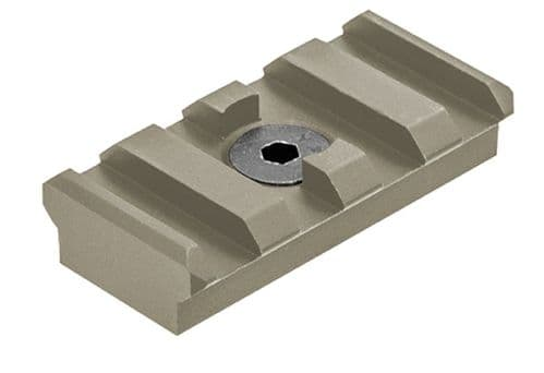 Leapers UTG PRO M-LOK 4-Slot Picatinny Rail Section FDE Cerakote MTURS09SD