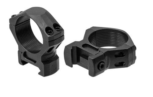 Leapers UTG Steel Picatinny Rifle Scope Mount Rings - 30mm LOW - RSW3104