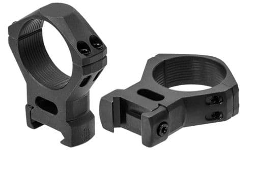 Leapers UTG Steel Picatinny Rifle Scope Mount Rings - 34mm HIGH RSW4204