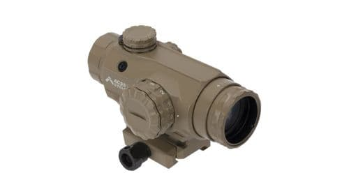 Primary Arms SLX Compact 1x20 Prism Sight ACSS-Cyclops Ranging Reticle FDE