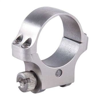 Ruger 4K30 30mm Stainless Medium Rifle Scope Mount Rings for M77,10/22 etc