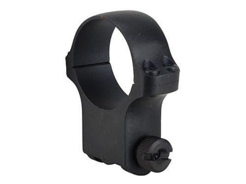 """Ruger M77 Hawkeye 1"""" Rifle Scope Mount Ring size 6 Extra high Blue Matte"""