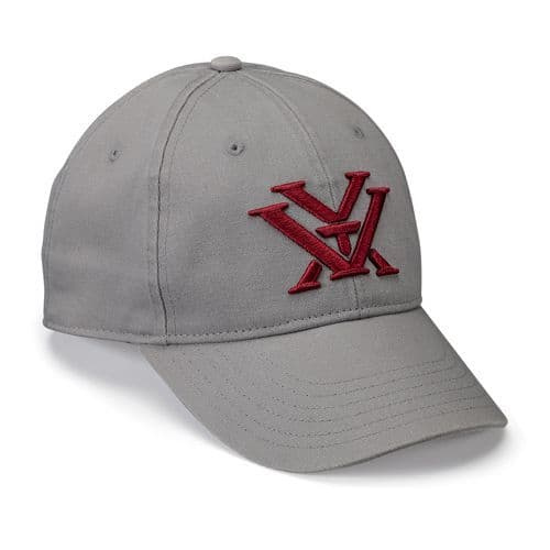 Vortex Optics Ladies Grey Maroon Pit Cap Hat LGMH