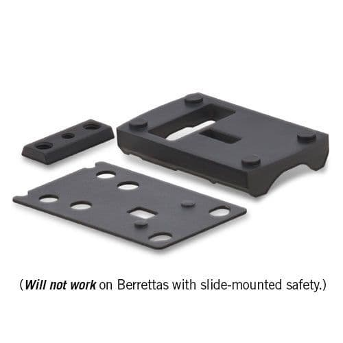 Vortex Razor Red Dot Beretta 92 Base Adapter Mount Plate MT-5103