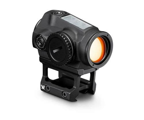 Vortex SPARC Solar Red Dot Sight 2 MOA Dual Height Picatinny Mount SPC-404