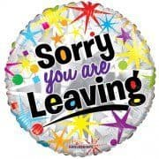 18 INCH SORRY YOU ARE LEAVING FOIL BALLOON (1)