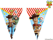 Disney Toy Story 4 Flag Party Banner
