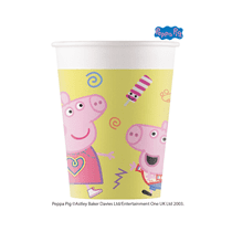 NEW Peppa Pig Paper Party Cups 8pk