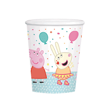 Peppa Pig Party 250ml Paper Cups 8pk