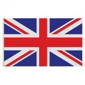 Polyester Flag - 5ft x 3ft - Union Jack - Great Britain