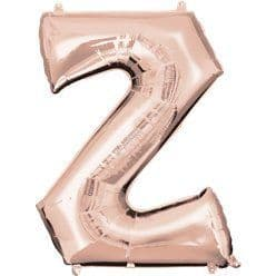 Rose Gold Letter Z Balloon - 34