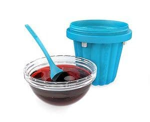Chill Factor Squeeze Cup Jelly Maker - BLUE
