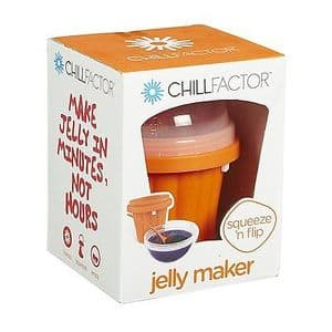 Chill Factor Squeeze Cup Jelly Maker - ORANGE