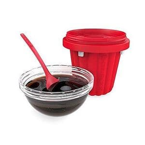 Chill Factor Squeeze Cup Jelly Maker - RED