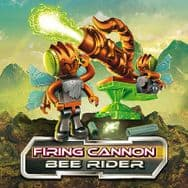 Construct A Bugz Character Building Firing Cannon - Bee Rider