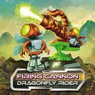 Construct A Bugz Character Building Firing Cannon - Dragonfly Rider
