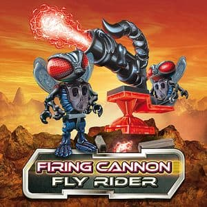 Construct A Bugz Character Building Firing Cannon - Fly Rider