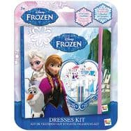 Disney Frozen Dresses Book Kit