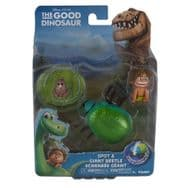 Disney Pixar The Good Dinosaur - Action Figure - Spot and Giant Beetle