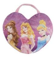 Disney Princess Shaped Cushion Pillow & Bag to Go - 2 in 1