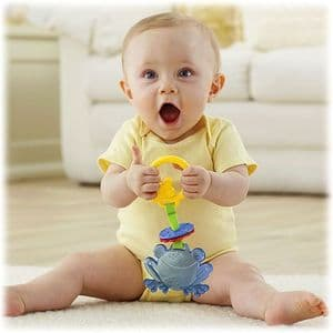 Fisher Price Friendly Frog Teether