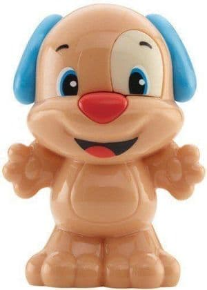Fisher Price Laugh & Learn Rattle Figure - Blue Puppy
