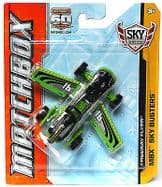 Matchbox 60th Anniversary Sky Busters Diecast Plane Freeway Flyer Green