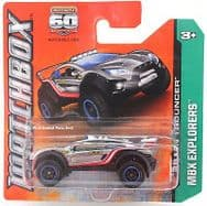 Matchbox Diecast Car MBX Explorers - Terrain Trouncer - 60th Anniversary