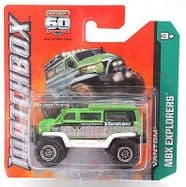 Matchbox Diecast Car MBX Explorers - Vantom - 60th Anniversary