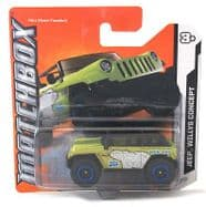Matchbox Jeep Willys Concept MBX Artic 74/120