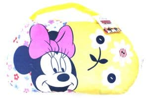 Minnie Mouse Cushion Pillow & Bag to Go - 2 in 1 - YELLOW