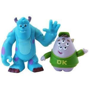 Monsters University Scare Pairs - Sulley and Squishy
