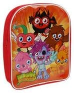 Moshi Monsters Red Backpack School Bag