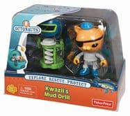 Octonauts Twin Figure Pack - Kwazii's Mud Drill