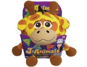 Snuggle Pets  J-Animals Onesie -  Giraffe - SMALL 106 to 120cms