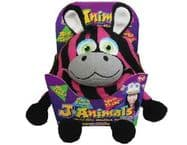 Snuggle Pets  J-Animals Onesie -  Zebra - SMALL 106 to 120cms