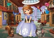 Sofia the First 20 Piece Jigsaw Puzzle - Library Design