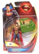 "Superman Man of Steel 4"" Figure - Auto Attack"