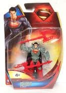 "Superman Man of Steel 4"" Figure - Combat"