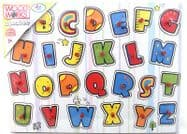 Wood Works Lift Out 26 Piece Peg Puzzle - Alphabet