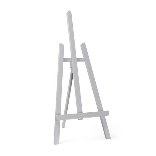 "Grey Colour Easel Essex 24"" - Beech Wood"