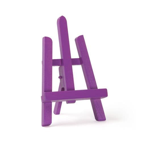 "Violet Colour Easel Essex 11"" - Beech Wood"