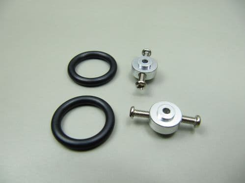 2.3mm Prop Saver with Adapter & 2 bands