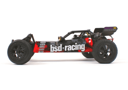 BSD PRIME BAJA V3,RETRO COLOUR SCHEME 1/10TH BUGGY RTR