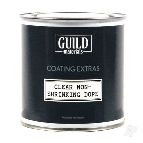 Clear Non Shrinking Dope 125ml Tin