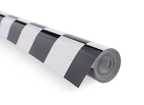 Covering Film Grill-Work small Black/White (sold per meter )