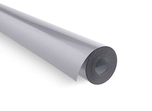 Covering Film Solid Silver  (sold per meter )  1115